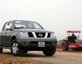 Xe Nissan Navara tại Việt Nam bị lỗi hệ thống khí xả