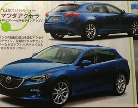 Mazda3 thế hệ mới lộ diện