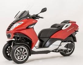 Peugeot sản xuất scooter ba bánh cạnh tranh với Piaggio