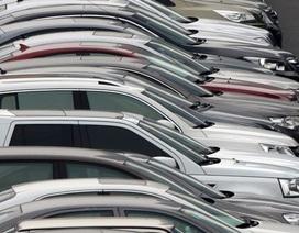 Nhập khẩu ô tô liên tục tăng