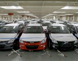 Nhập khẩu ô tô từ Hàn Quốc vẫn áp đảo