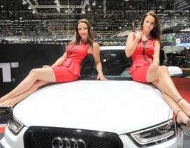 Ngắm người mẫu tại Triển lãm ô tô Geneva 2014
