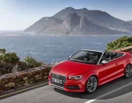 Audi S3 Cabriolet sẵn sàng cho mùa hè