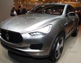 Maserati bắt đầu sản xuất SUV vào năm sau