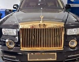 Rolls-Royce Phantom độ vàng 24k ở Hà Nội