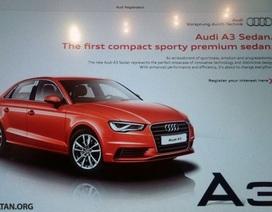 Audi giới thiệu xe A3 và A8 phiên bản mới