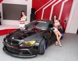 Dịu dàng người mẫu Triển lãm ô tô Bắc Kinh 2014
