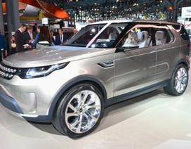 Land Rover Discovery Vision Concept chính thức ra mắt