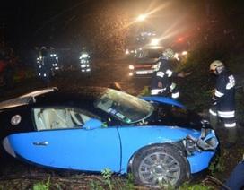 Bugatti Veyron 16.4 bị tai nạn ở Áo