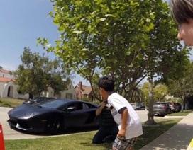 Giấc mơ có thật của cậu bé mê Lamborghini
