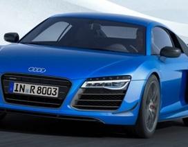 Audi R8 LMX là xe đầu tiên trên thế giới dùng đèn laser