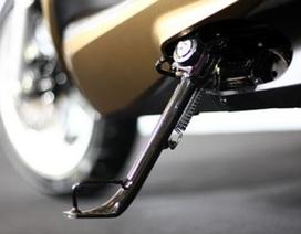 Lìa chân, chảy máu do thiết kế xe máy bất cẩn