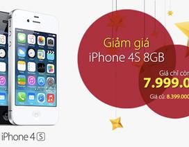 FPT giảm giá iPhone 4S xuống dưới 8 triệu