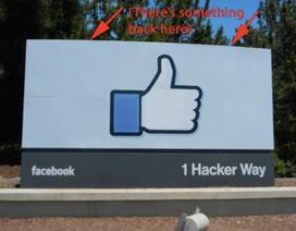 Thông điệp ẩn ý đằng sau tấm biển tại trụ sở Facebook