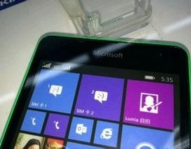 Lộ ảnh smartphone Lumia 535 mang thương hiệu Microsoft