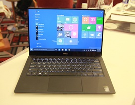 Dell bán XPS 13 viền siêu mỏng, pin 15 tiếng tại Việt Nam