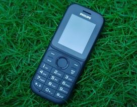 Philips đưa ra thị trường điện thoại phổ thông giá 320 nghìn đồng