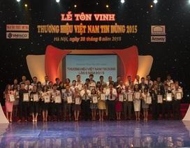"""VTVcab được bình chọn là """"Thương hiệu Việt Nam tin dùng"""""""