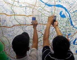 Hàng ngàn người đến xem quy hoạch chung Thủ đô