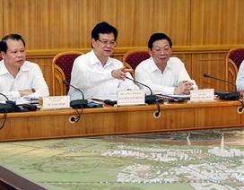 Thủ tướng yêu cầu bảo đảm tiến độ trục Nhật Tân - Nội Bài