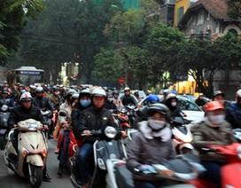 Hà Nội thu phí bảo trì đường bộ đối với xe máy