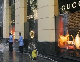 Xử lý sai phạm tại cửa hàng Gucci - Milano