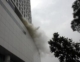 Giả định cháy lớn tại tòa nhà Indochina Plaza