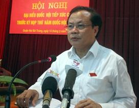 """Bí thư Hà Nội: """"Hứa trước cử tri tôi cũng rất lo"""""""