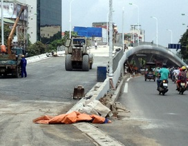 Thông xe cầu vượt Đại Cồ Việt - Trần Khát Chân: Các phương tiện đi thế nào?