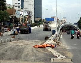 Hà Nội sắp thông xe cầu vượt Trần Khát Chân - Đại Cồ Việt