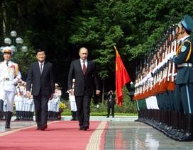 Lễ đón chính thức Tổng thống Nga Vladimir Putin