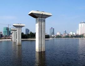 """""""Chốt"""" thời gian cho tuyến đường sắt trên cao đầu tiên của Hà Nội"""