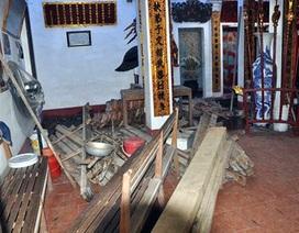 Vụ dỡ mái đình cổ bán gỗ sưa: Thay bằng gỗ xoan!