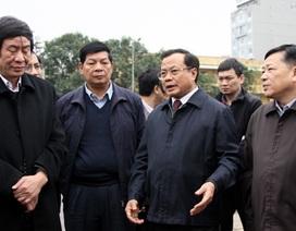 """Bí thư Hà Nội: """"Phạt cho tồn tại là hợp pháp sai phạm!"""""""
