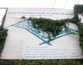 """""""Trầy trật"""" những tuyến đường sắt đô thị Hà Nội"""