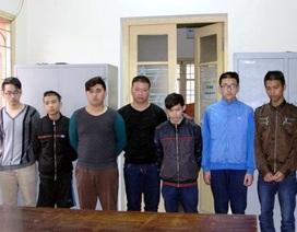 Hà Nội: Bắt nhóm học sinh lớp 12 dùng dao chống công an