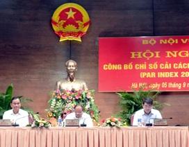 Bộ GTVT, thành phố Đà Nẵng đứng đầu bảng cải cách hành chính