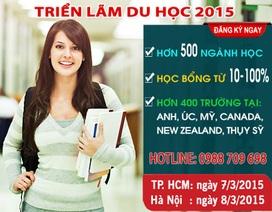 Triển lãm du học quốc tế: Anh, Úc, Mỹ, New Zealand, Canada, Thụy Sỹ