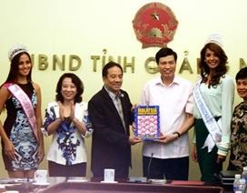 Hoa hậu Du lịch quốc tế sẽ được tổ chức tại Hạ Long