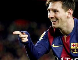 Messi cán mốc 400 bàn cho Barca