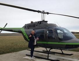 Thuê trực thăng tìm chó cưng mất tích
