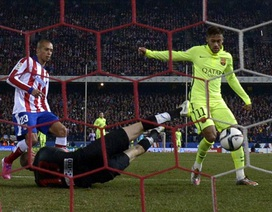 Nhìn lại màn rượt đuổi tỉ số ngoạn mục giữa Atletico và Barca