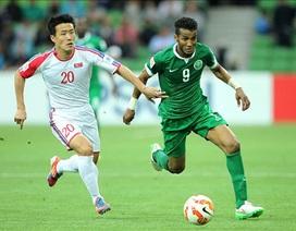 Bảng B Asian Cup 2015: Triều Tiên bị loại, Trung Quốc đi tiếp