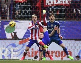 """Nhìn lại 90 phút Atletico """"tàn sát"""" Real Madrid ở Vicente Calderon"""