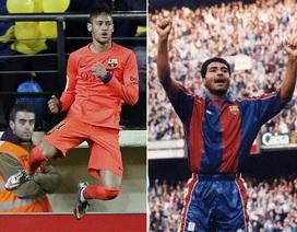 Neymar xô đổ kỷ lục ghi bàn của huyền thoại Romario