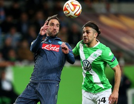 Napoli thắng đậm Wolfsburg, Sevilla ngược dòng hạ Zenit