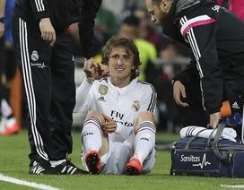 Modric nghỉ 6 tuần, Real Madrid trả giá đắt cho chiến thắng trước Malaga
