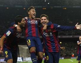 """Barca và một thập niên thăng hoa nhờ những """"cây đinh ba"""""""