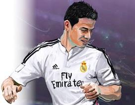 [Infographics] James Rodriguez: Thần tượng mới tại Bernabeu