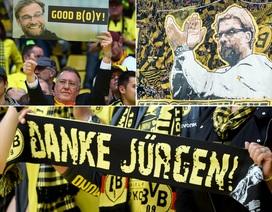 """Hạ màn Bundesliga 2014-15: """"Hùm xám"""" mở đại tiệc bia, Dortmund tri ân Klopp"""